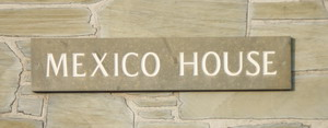 Mexico House name plate