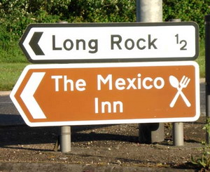 Long Rock road sign - II