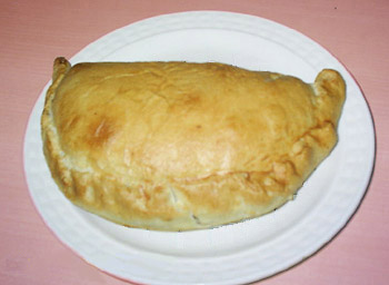 Chilean empanada - it looks like a pasty to me!