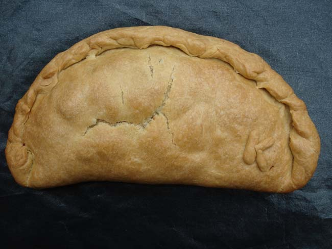 "Pasty with ""afters"" - after baking"