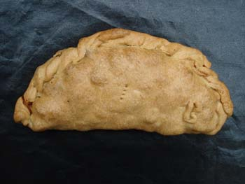 "Another pasty with ""afters"" - after baking"
